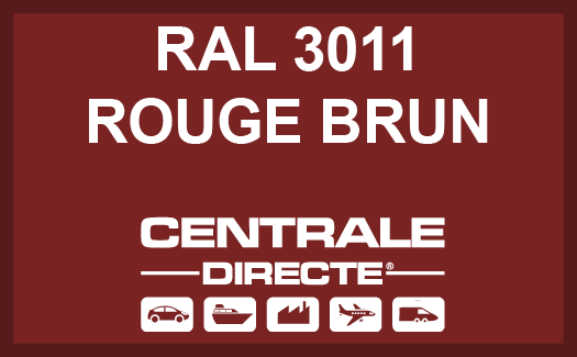 Couleur RAL 3011 Rouge brun