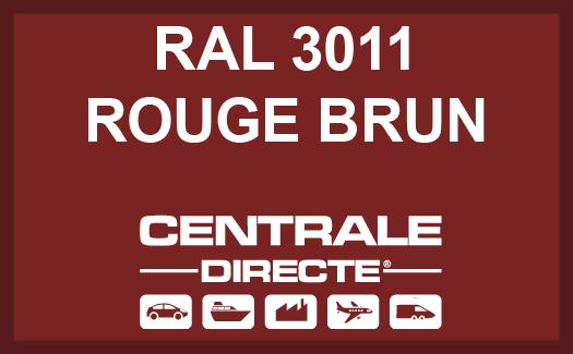 Couleur RAL 3011 Rouge brun