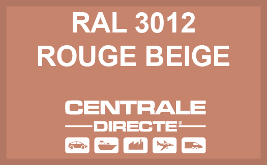 Couleur RAL 3012 Rouge beige