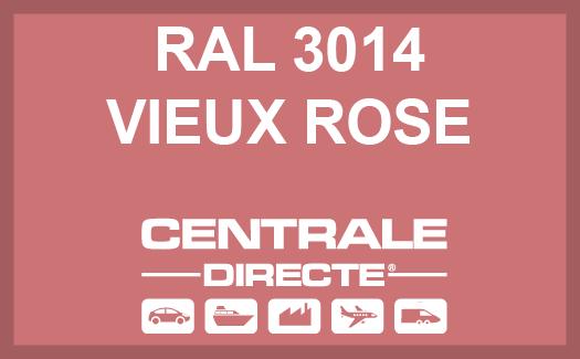 Couleur RAL 3014 Vieux rose