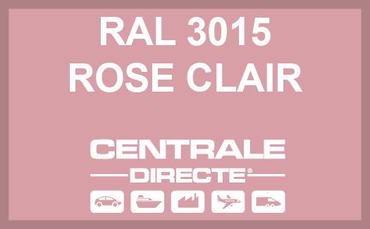 Couleur RAL 3015 Rose clair