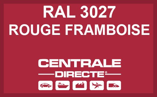 Couleur RAL 3027 Rouge framboise