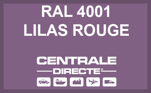 Couleur RAL 4001 Lilas rouge