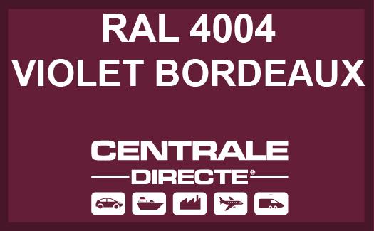 Couleur RAL 4004 Violet bordeaux