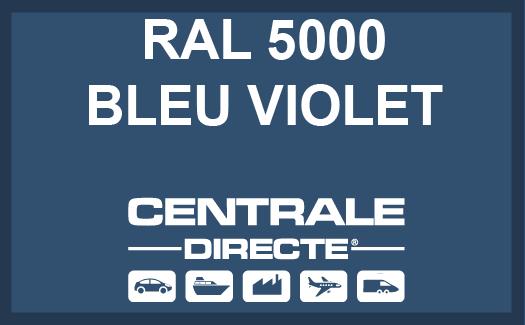 Couleur RAL 5000 Bleu violet