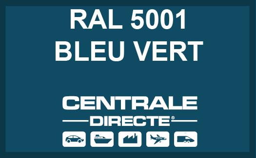 Couleur RAL 5001 Bleu vert