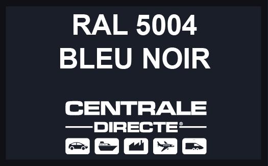 Couleur RAL 5004 Bleu noir