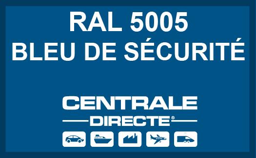 Couleur RAL 5005 Bleu de sécurité