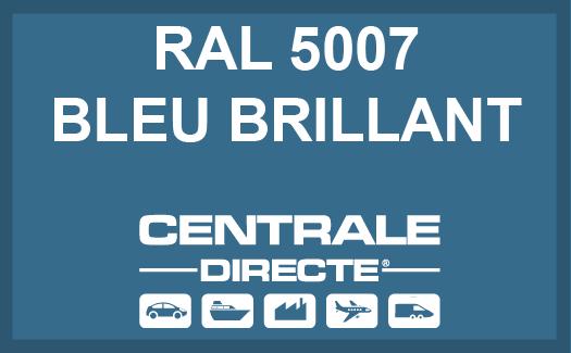Couleur RAL 5007 Bleu brillant