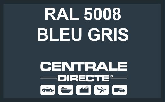 Couleur RAL 5008 Bleu gris