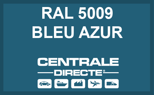 Couleur RAL 5009 Bleu azur