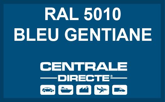 Couleur RAL 5010 Bleu gentiane