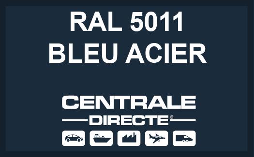Couleur RAL 5011 Bleu acier