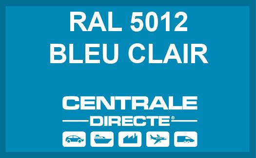 Couleur RAL 5012 Bleu clair