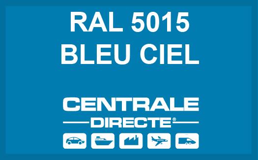 Couleur RAL 5015 Bleu ciel
