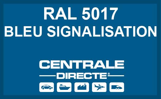 Couleur RAL 5017 Bleu signalisation