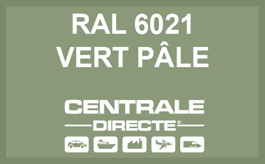 Couleur RAL 6021 Vert pâle