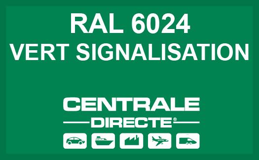 Couleur RAL 6024 Vert signalisation