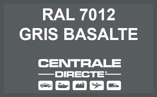 Couleur RAL 7012 Gris basalte