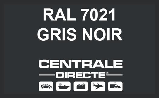 Couleur RAL 7021 Gris noir
