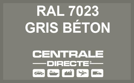 Couleur RAL 7023 Gris béton