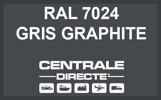 Couleur RAL 7024 Gris graphite