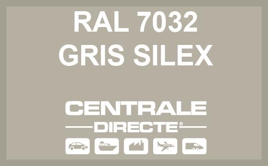 Couleur RAL 7032 Gris silex