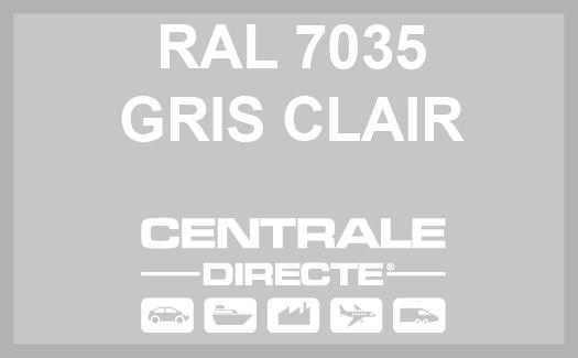 Couleur RAL 7035 Gris clair