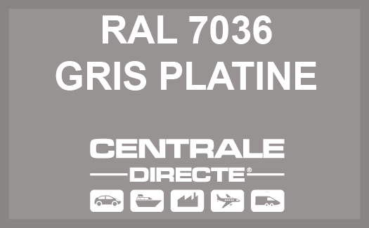 Couleur RAL 7036 Gris platine