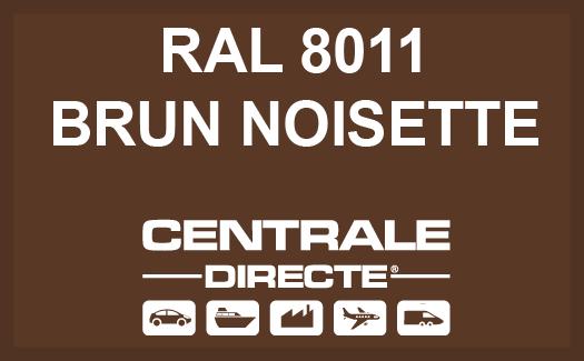 Couleur RAL 8011 Brun noisette