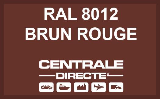 Couleur RAL 8012 Brun Rouge