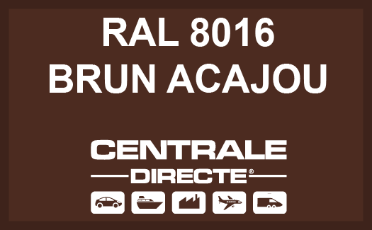 Couleur RAL 8016 Brun acajou