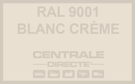 Couleur Ral 9001 Blanc crème