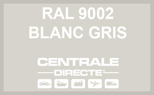 Couleur RAL 9002 Blanc gris