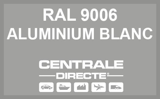 Couleur RAL 9006 Aluminium blanc