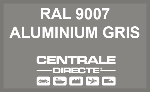 Couleur RAL 9007 Aluminium gris