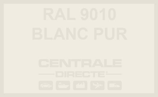 Couleur RAL 9010 Blanc pur