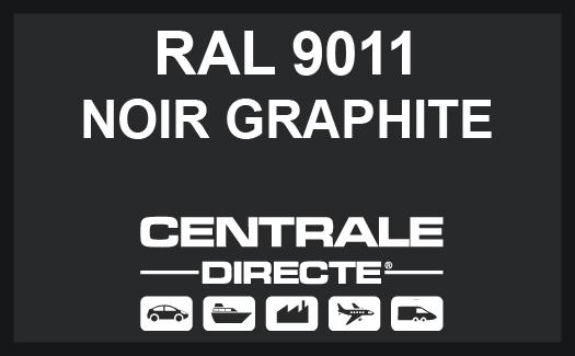 Couleur RAL 9011 Noir graphite