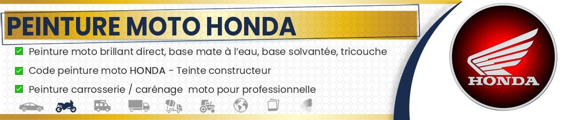 Code peinture moto Honda