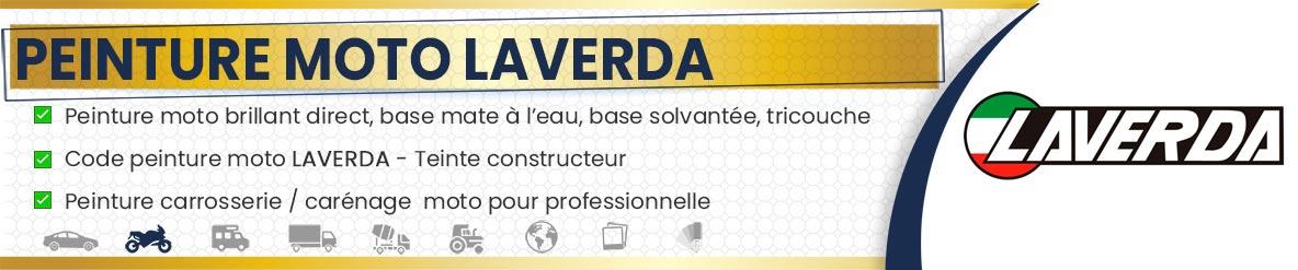 Code peinture moto Laverda