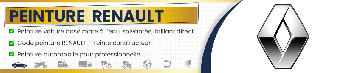Code Peinture Renault