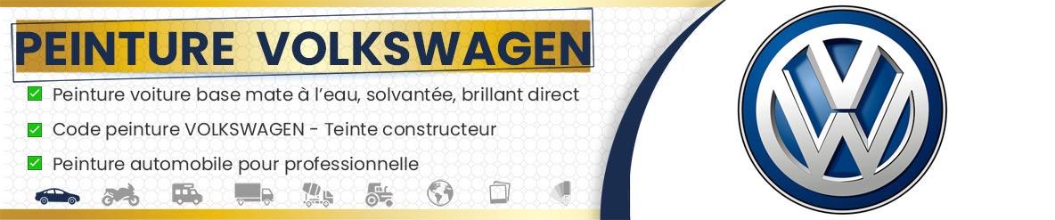 Code peinture Volkswagen